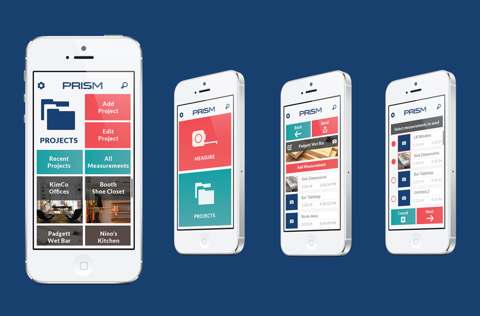 Prism mobile app michelle booth Architecture designing app